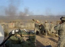 Firing at Bermel FOB on Afghan Pak border 2006