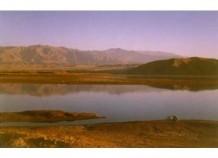 Dam outside Jalalabad in eastern Afghanistan