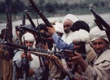 NIFA fighters, Parichinar 1983, on the Pakistan-Afghanistan border