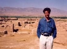 Destroyed Afghan village, 1993