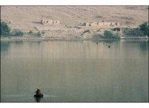 Lake near Kabu