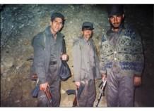 Inside Tora Bora cave 2005